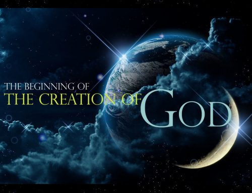 Do you really believe God created the world?