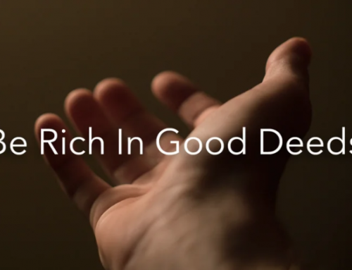 Learning to be rich in good deeds