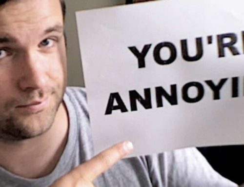 What do you do with the annoying people in your life?