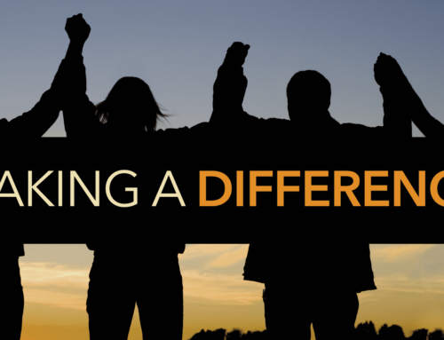 Are you making a difference or simply making a point?